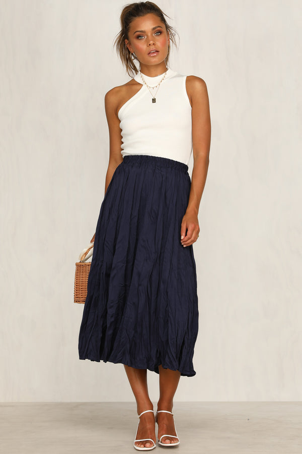 Vision Of Beauty Skirt (Navy)