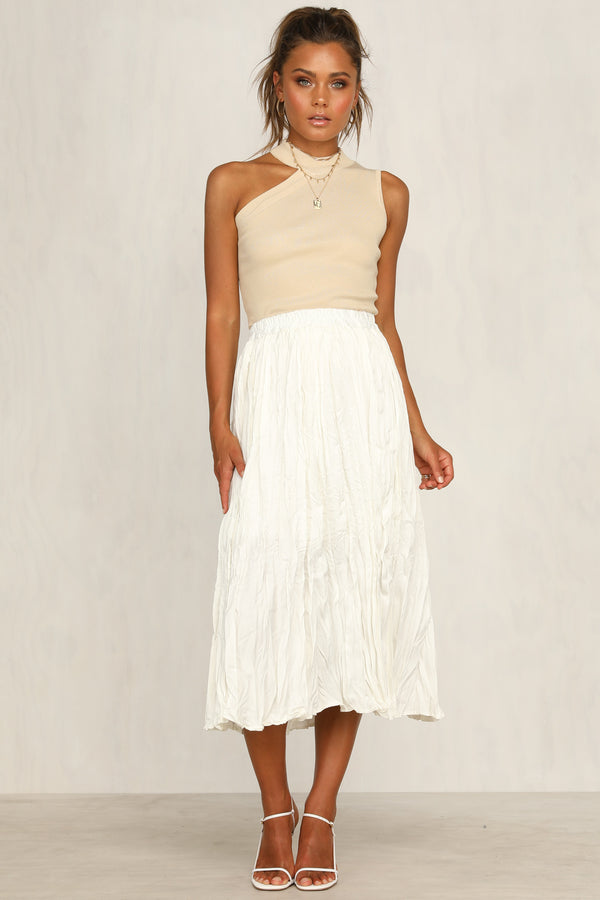 Vision Of Beauty Skirt (Ivory)