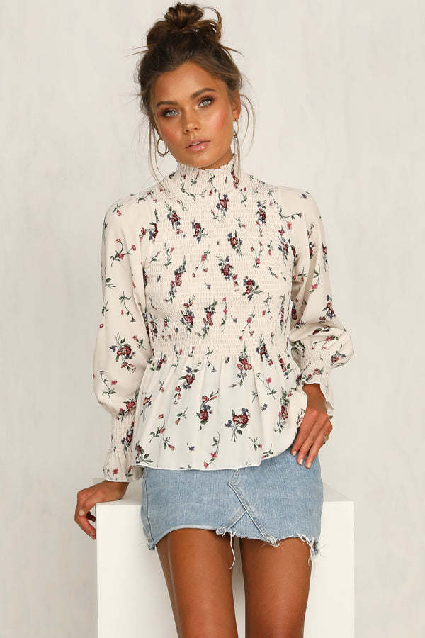 Country Rose Top (Floral)