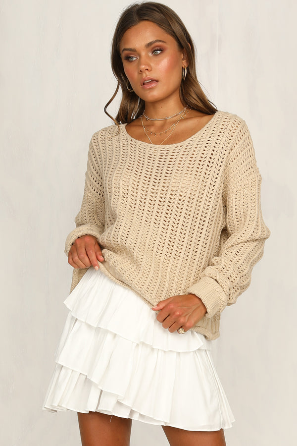 Gossip Knit Sweater