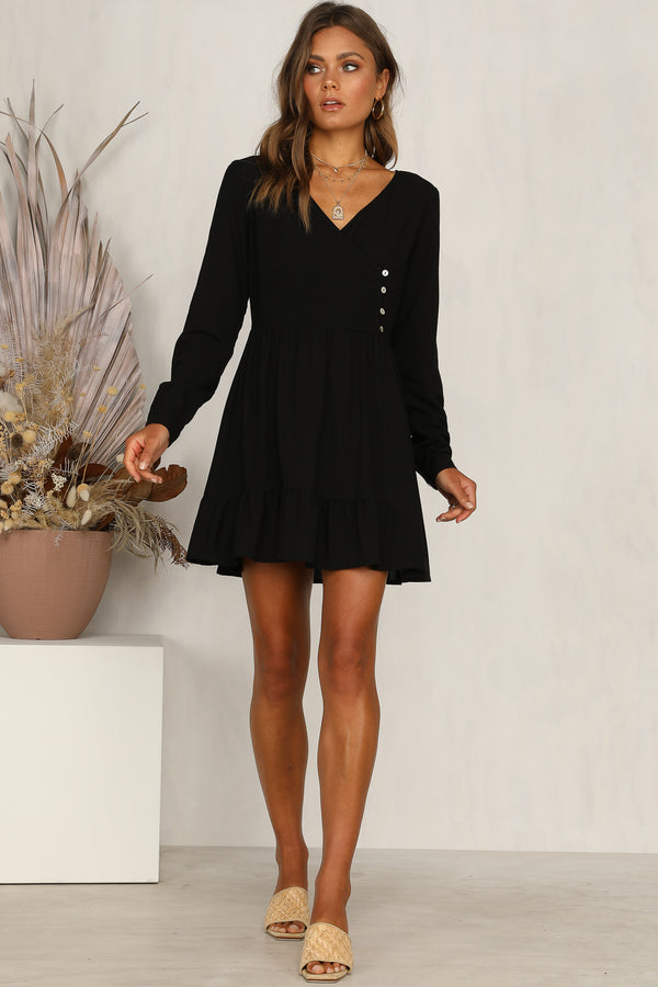 Better Days Dress (Black)