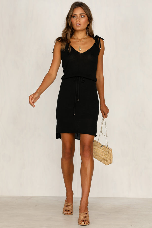 Hadley Knit Dress (Black)