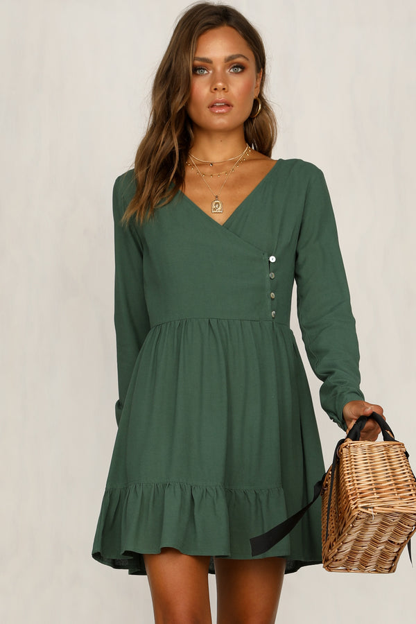 Better Days Dress (Green)