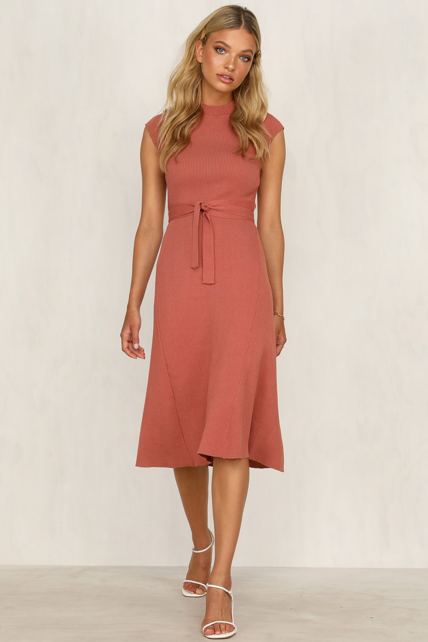 Elloise Dress (Rose)