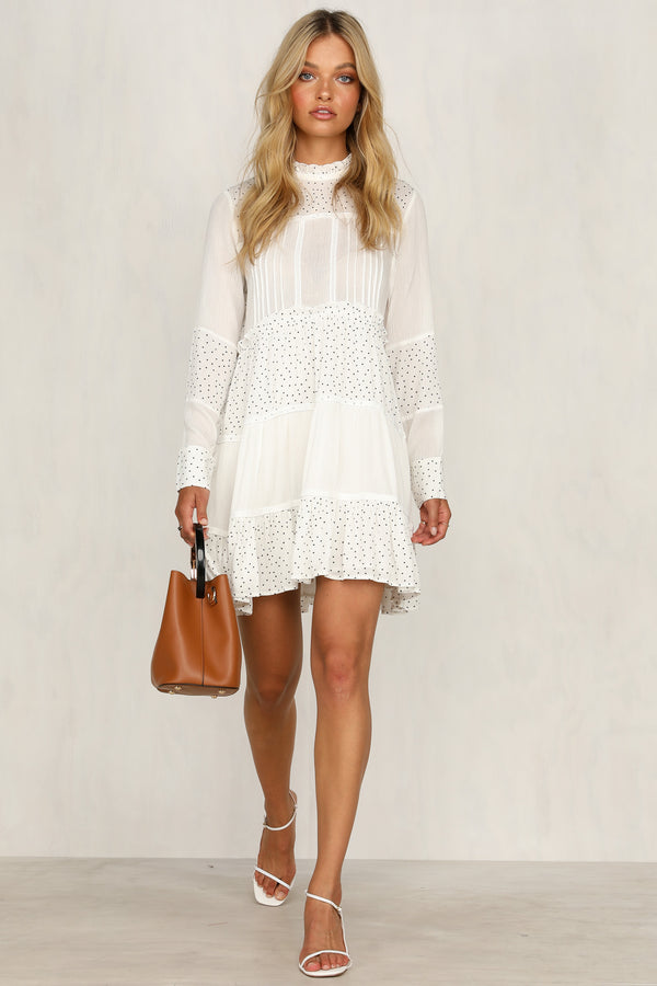 Fool For You Dress (White)