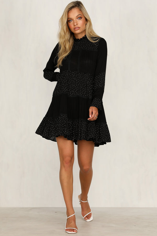Fool For You Dress (Black)