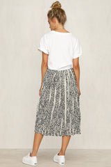 Two Steps Back Skirt (White)