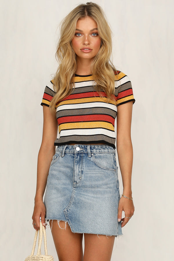 Delaney Top (Striped)