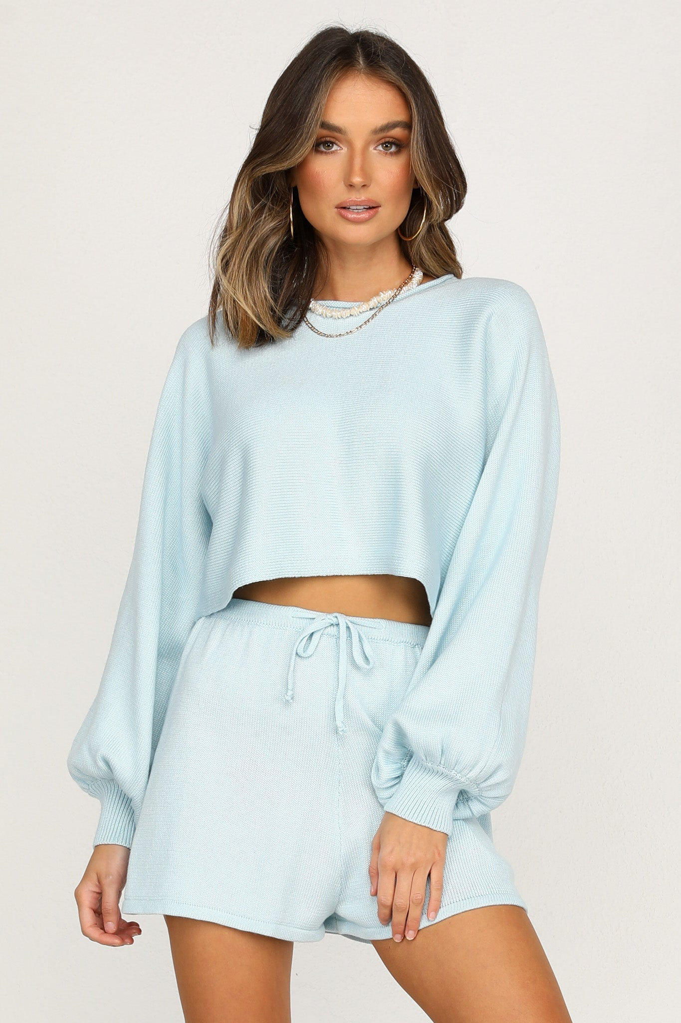 Chantelle Knit Top (Blue)