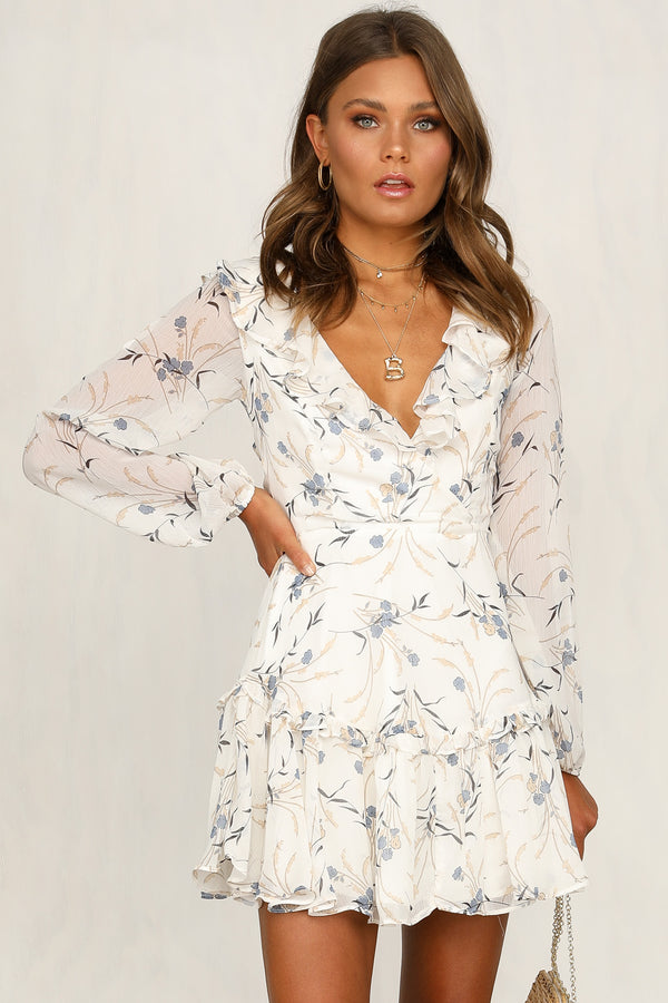 Kiss It Better Dress (Ivory)