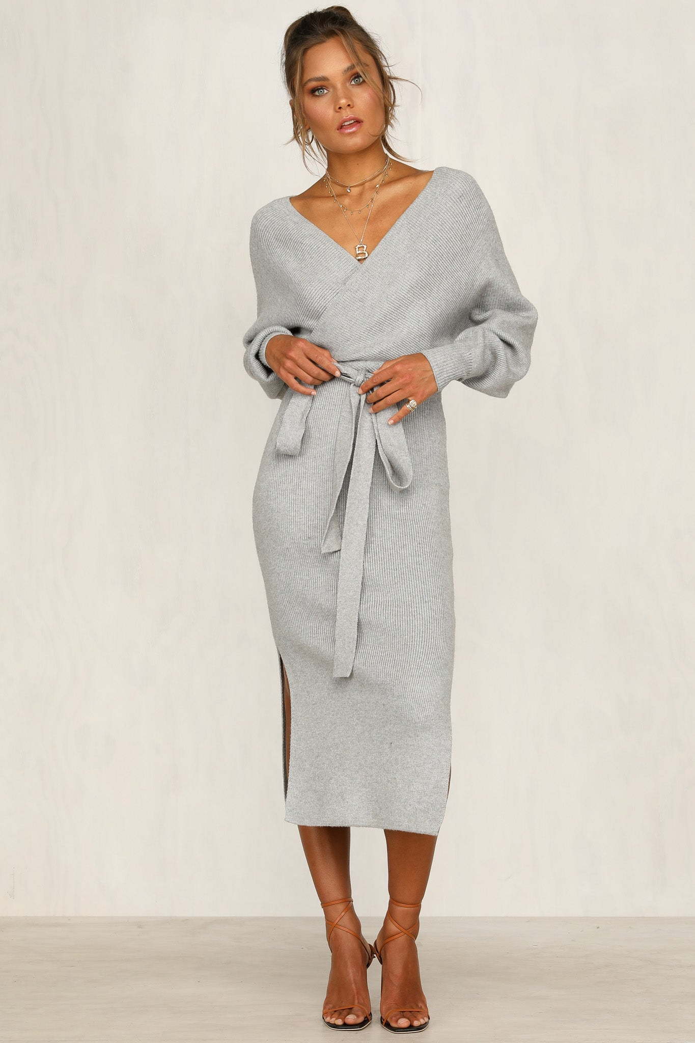 Rewind Dress (Grey)