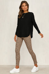 Nessie Knit Jumper (Black)