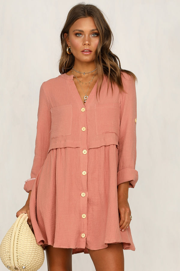 Country Girl Dress (Rose)