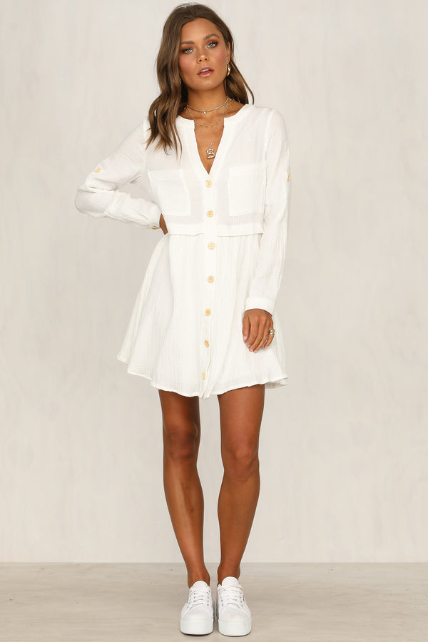 Country Girl Dress (White)