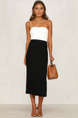 Zenna Knit Skirt (Black)