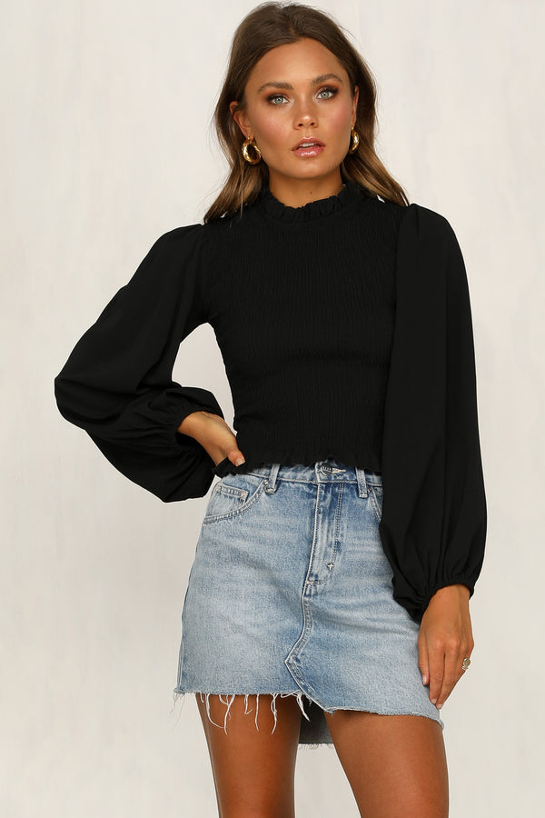 Becoming Yourself Top (Black)