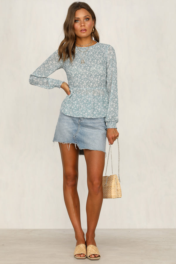 Cool Factor Top (Blue)
