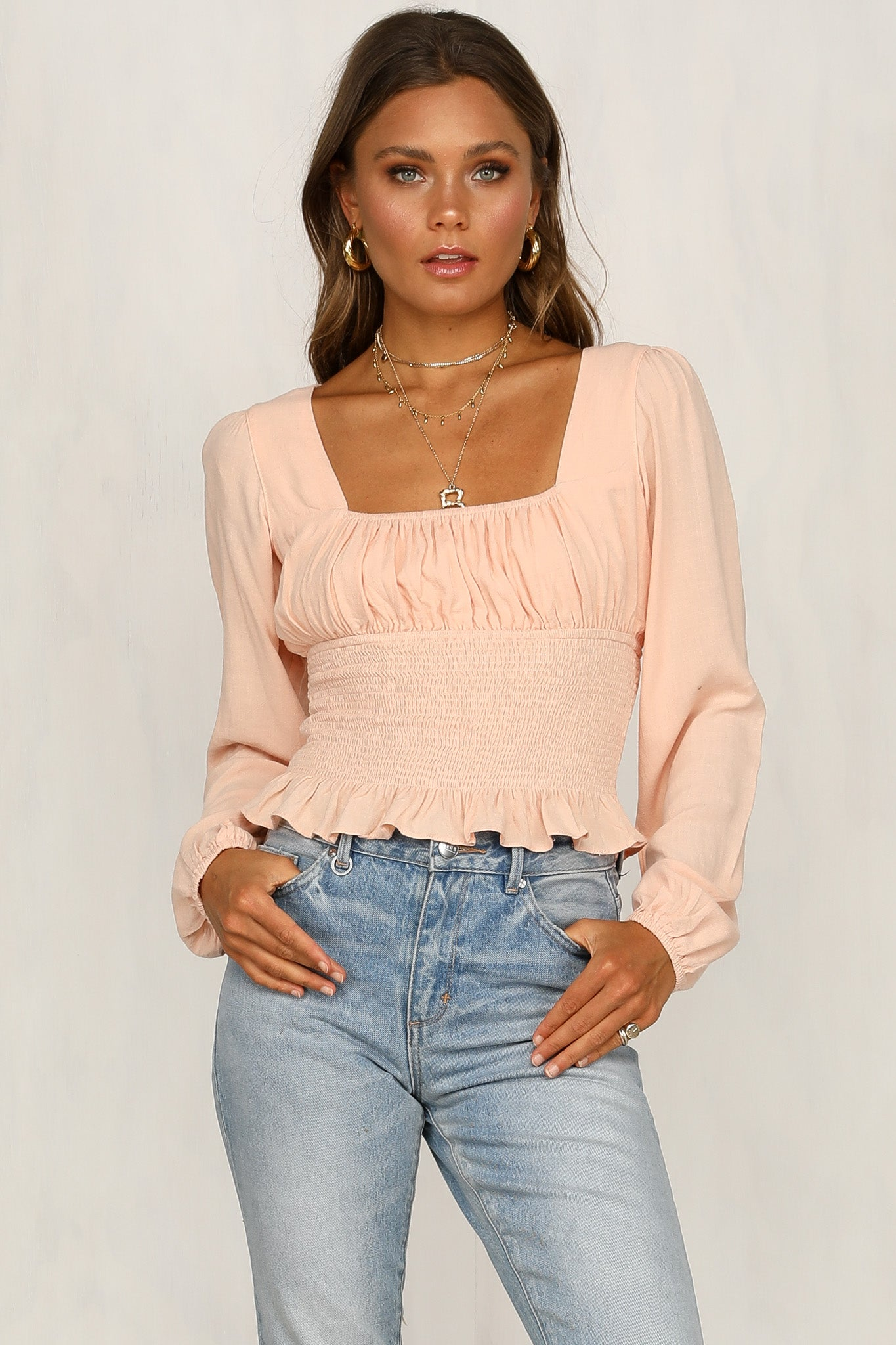Ami Top (Peach)