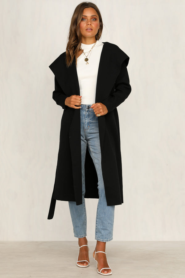 Dusk To Dawn Cardigan (Black)