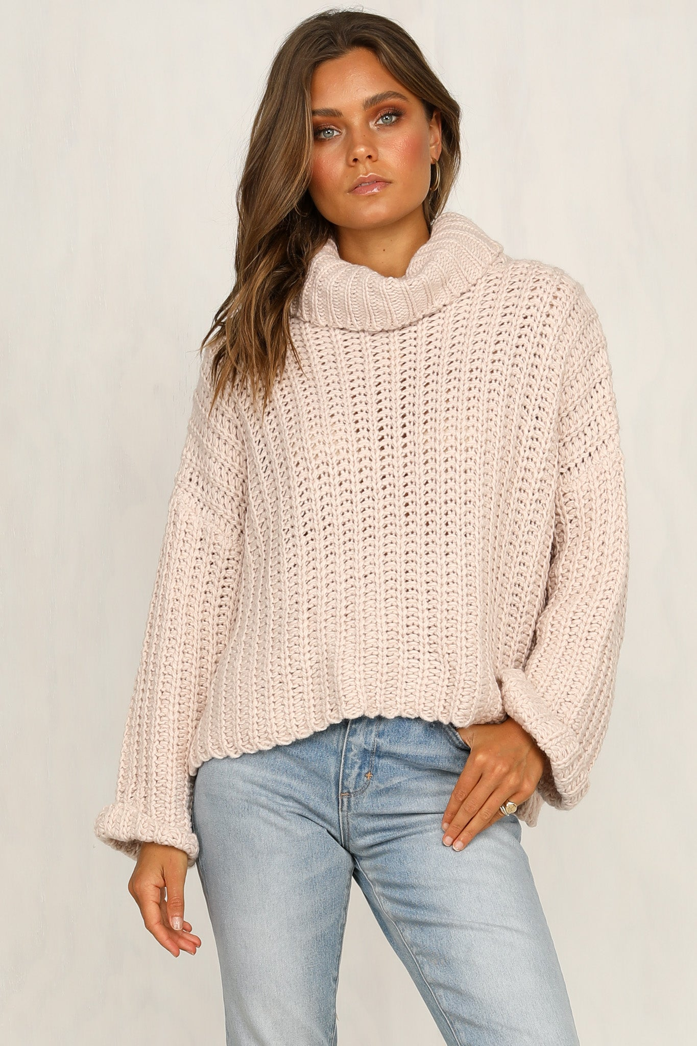 Three Little Words Knit (Blush)