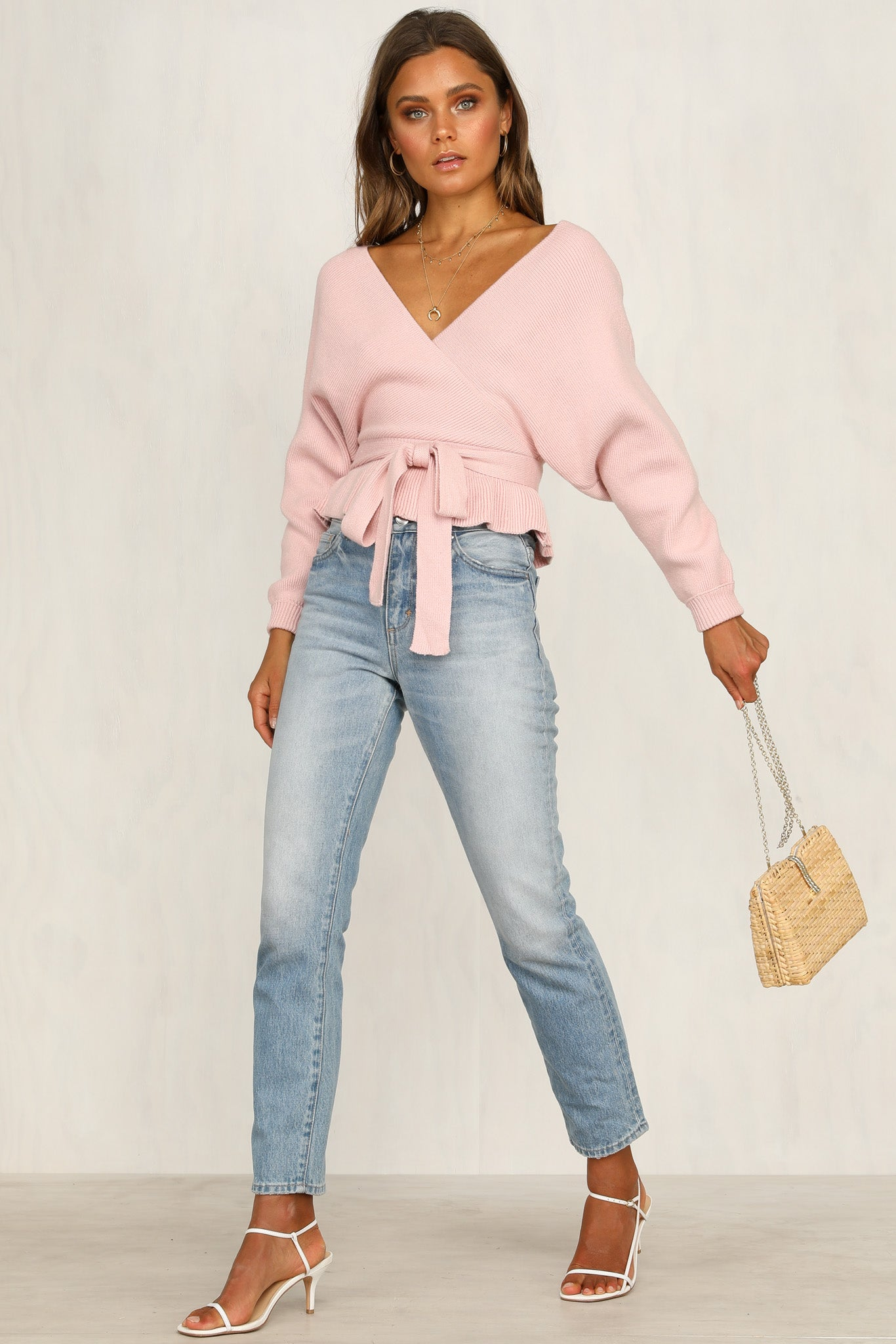 Hold On Me Knit (Pink)