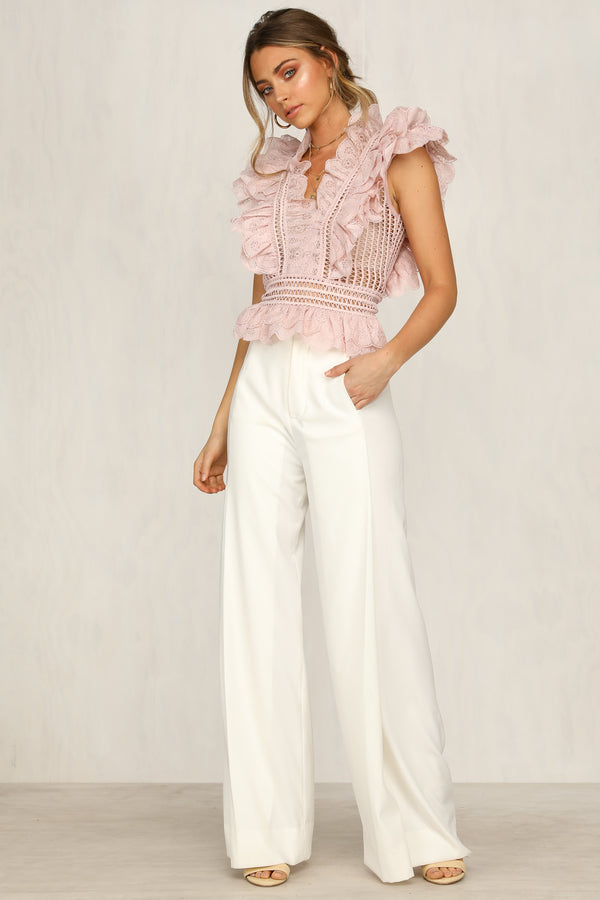 Claudette Top (Blush)