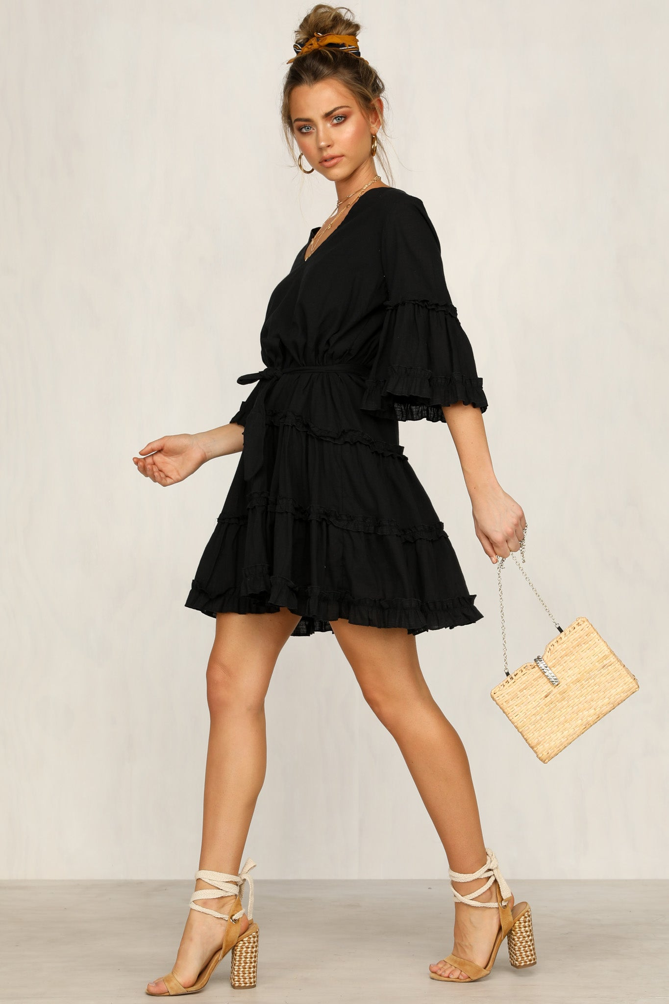 First Light Dress (Black)