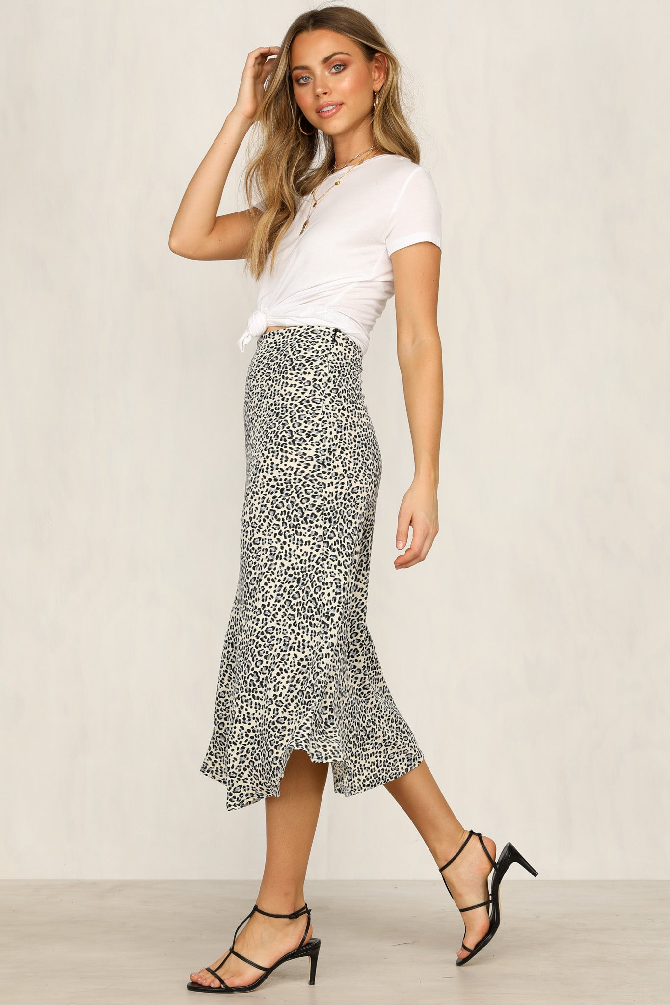 Enigma Skirt (Leopard)