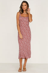 Summer High Dress (Rose Floral)