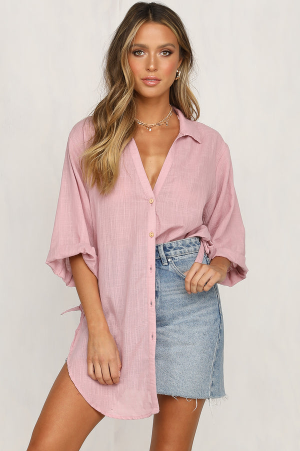 Fall to Pieces Shirt (Pink)