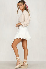 Sun Kissed Skirt (White)