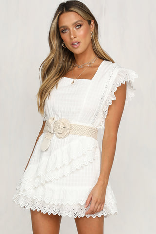 03a15f7a32 Lumiere Skirt (White) – RunwayScout
