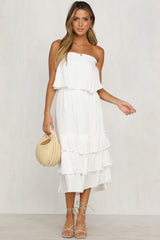 Daphne Dress (White)