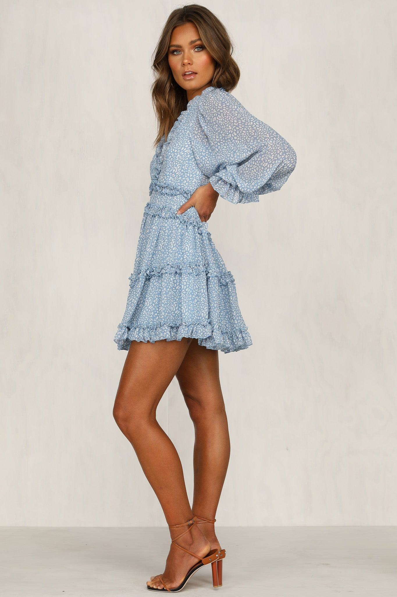 Sweet On You Dress (Blue)