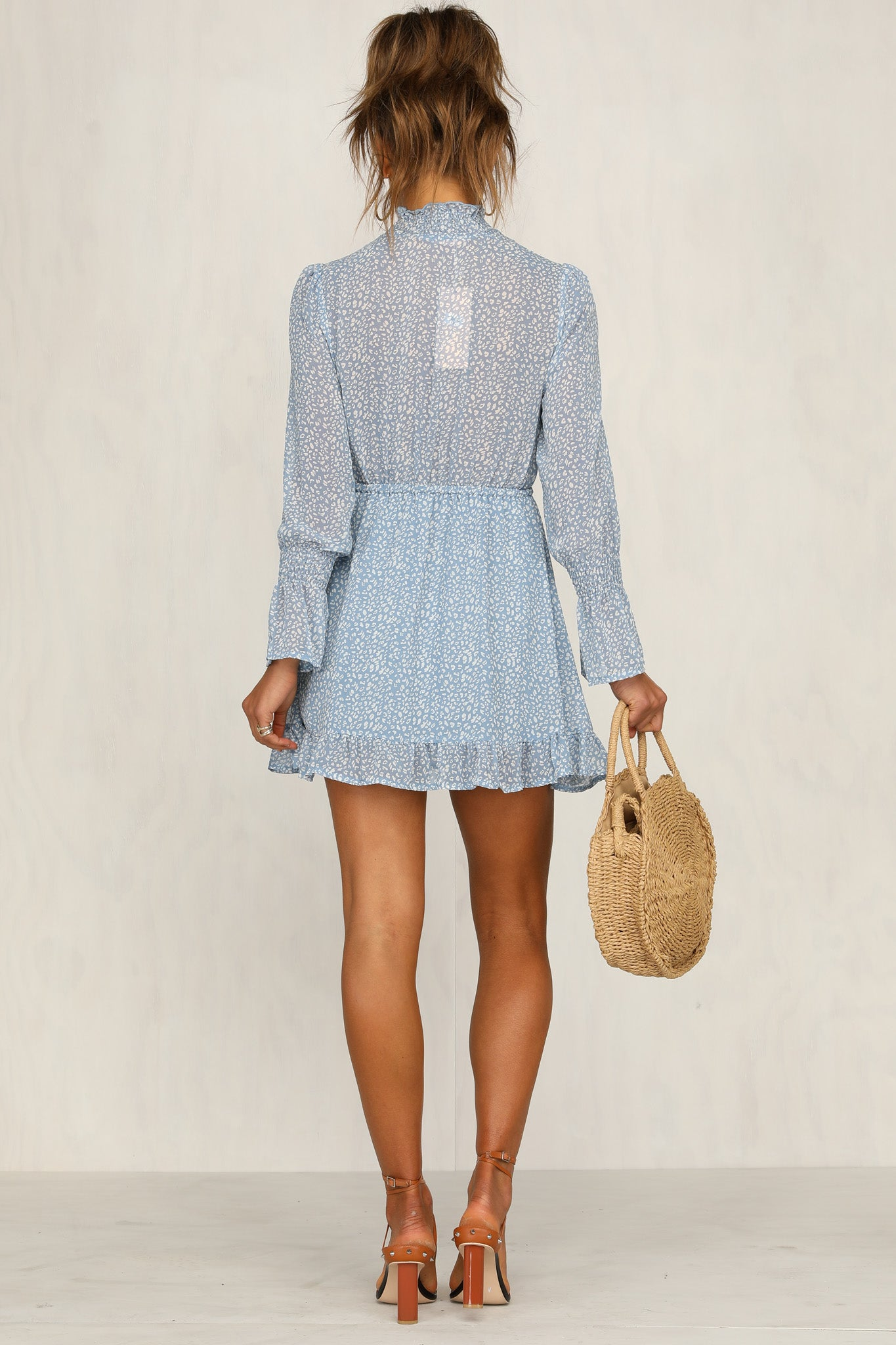 Delicate Hours Dress (Blue)