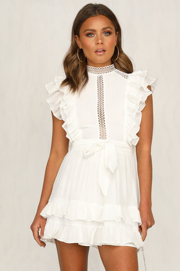 Clarita Dress (White)