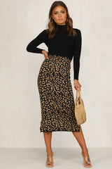 Raja Skirt (Black)