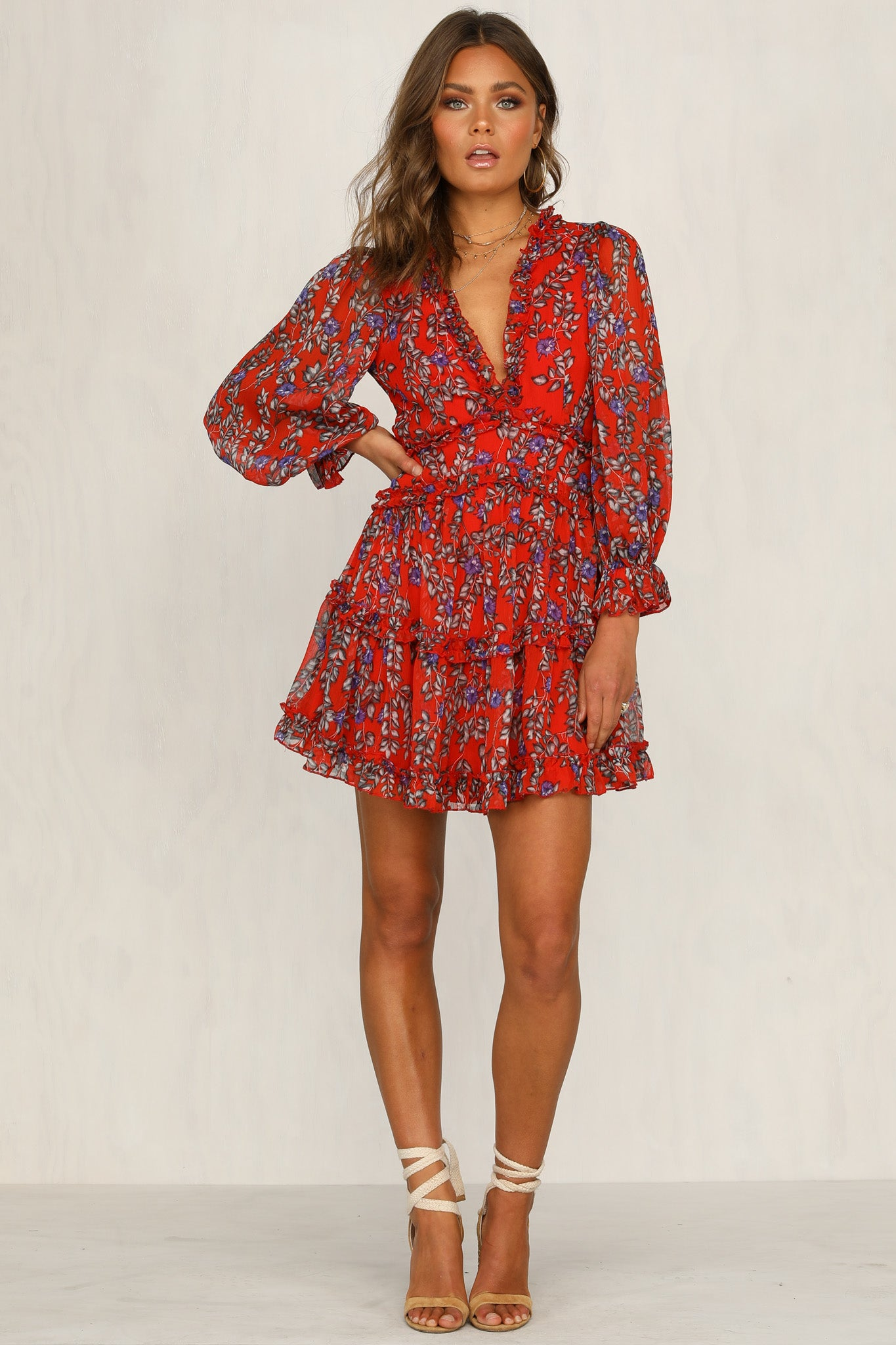Firestarter Dress (Red)