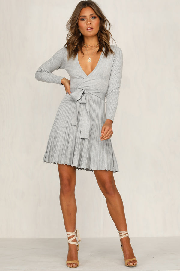 Rosalita Dress (Grey)