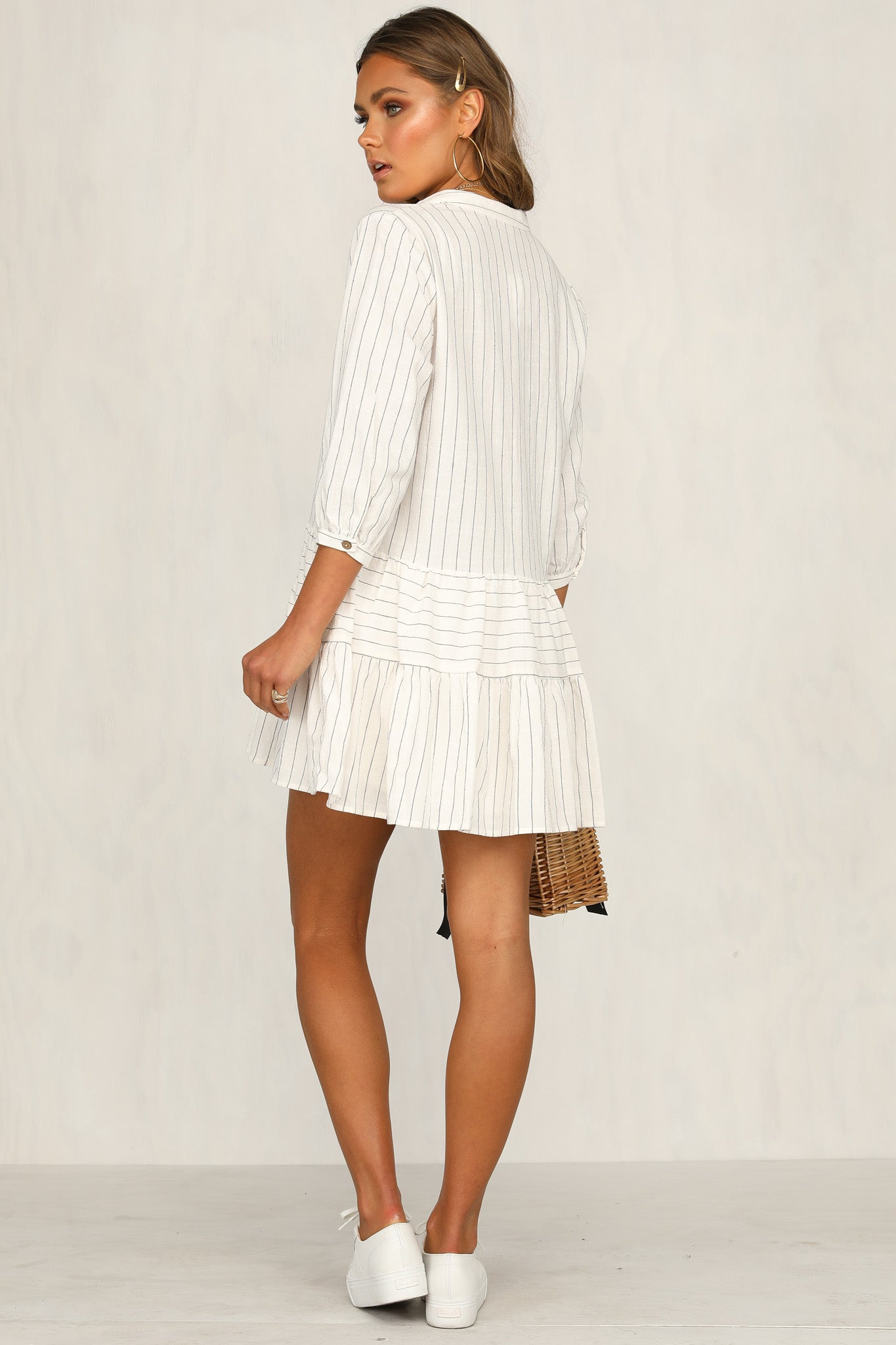 Cate Dress (White)