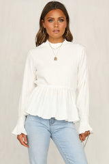 To Be Alone Top (White)