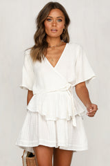 Say A Prayer Top (White)