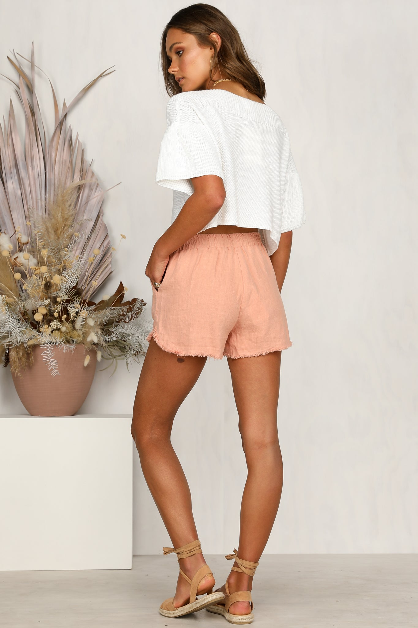 Summer Flame Shorts (Pink)