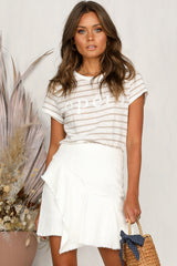 Easy Does It Skirt (White)