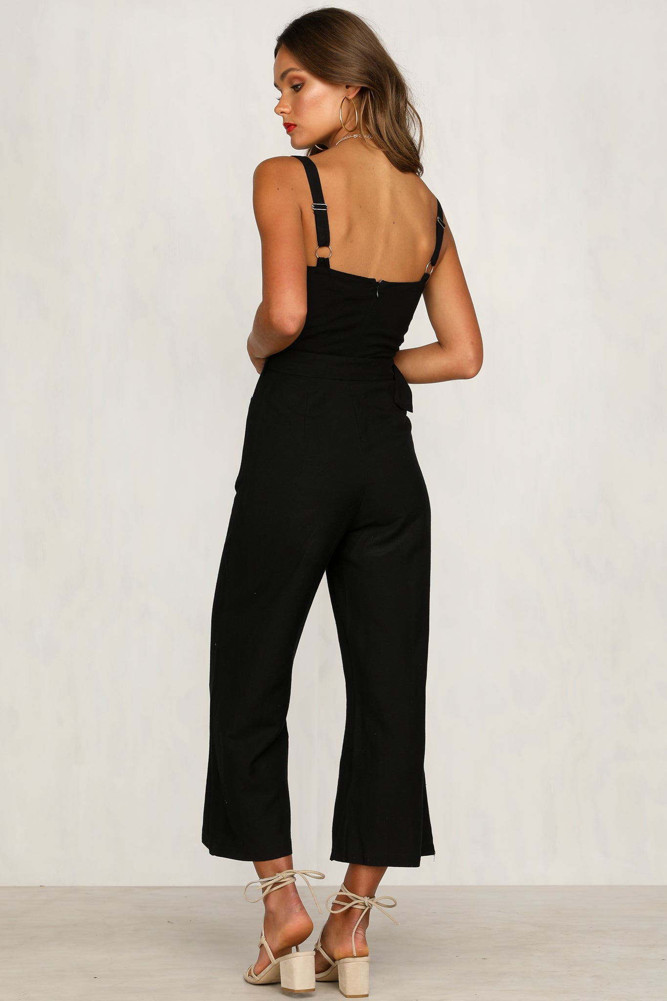 Handle It Jumpsuit (Black)