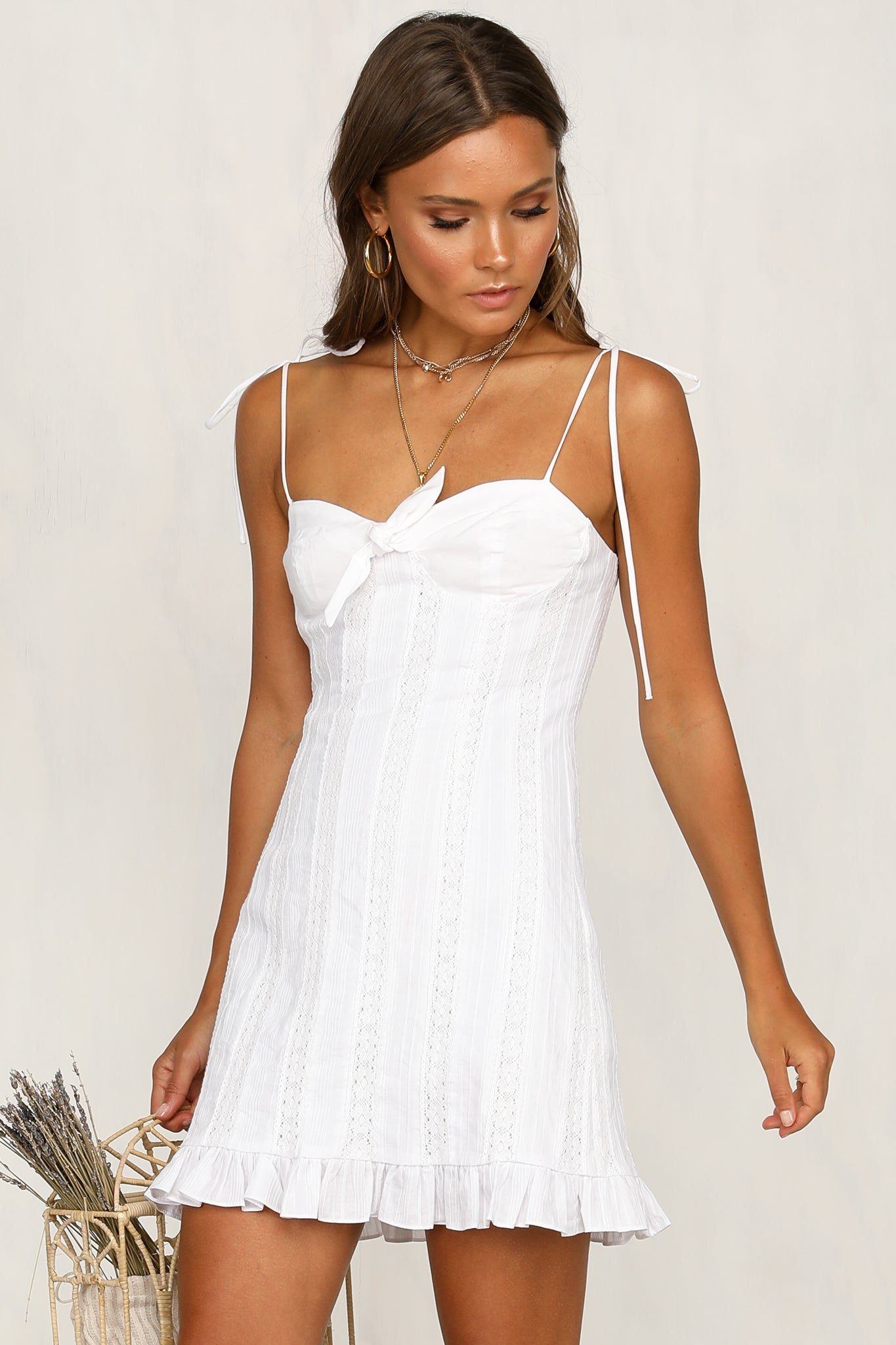 For The Lovers Dress (White)