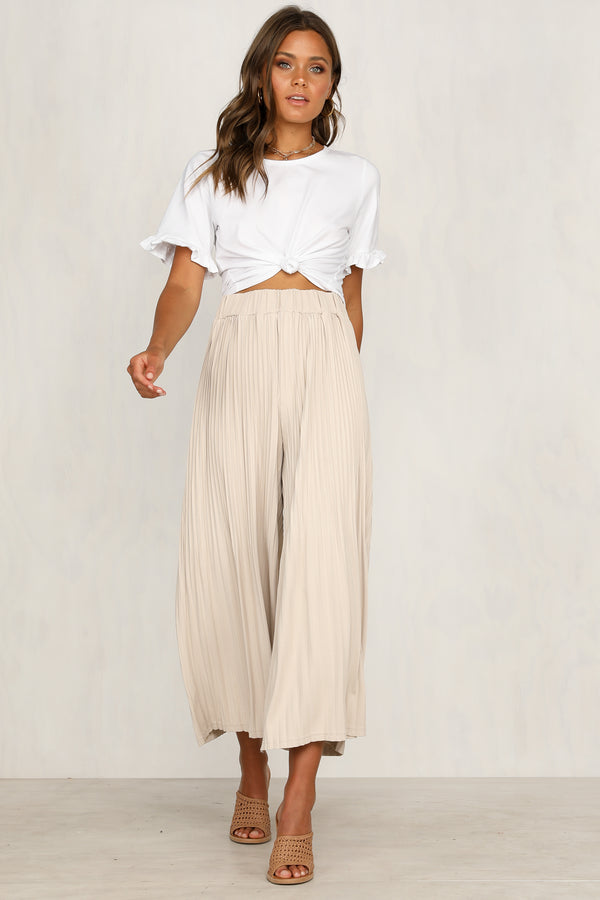 Starry Eyed Pants (Beige)