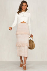 New Desert Skirt (Blush)
