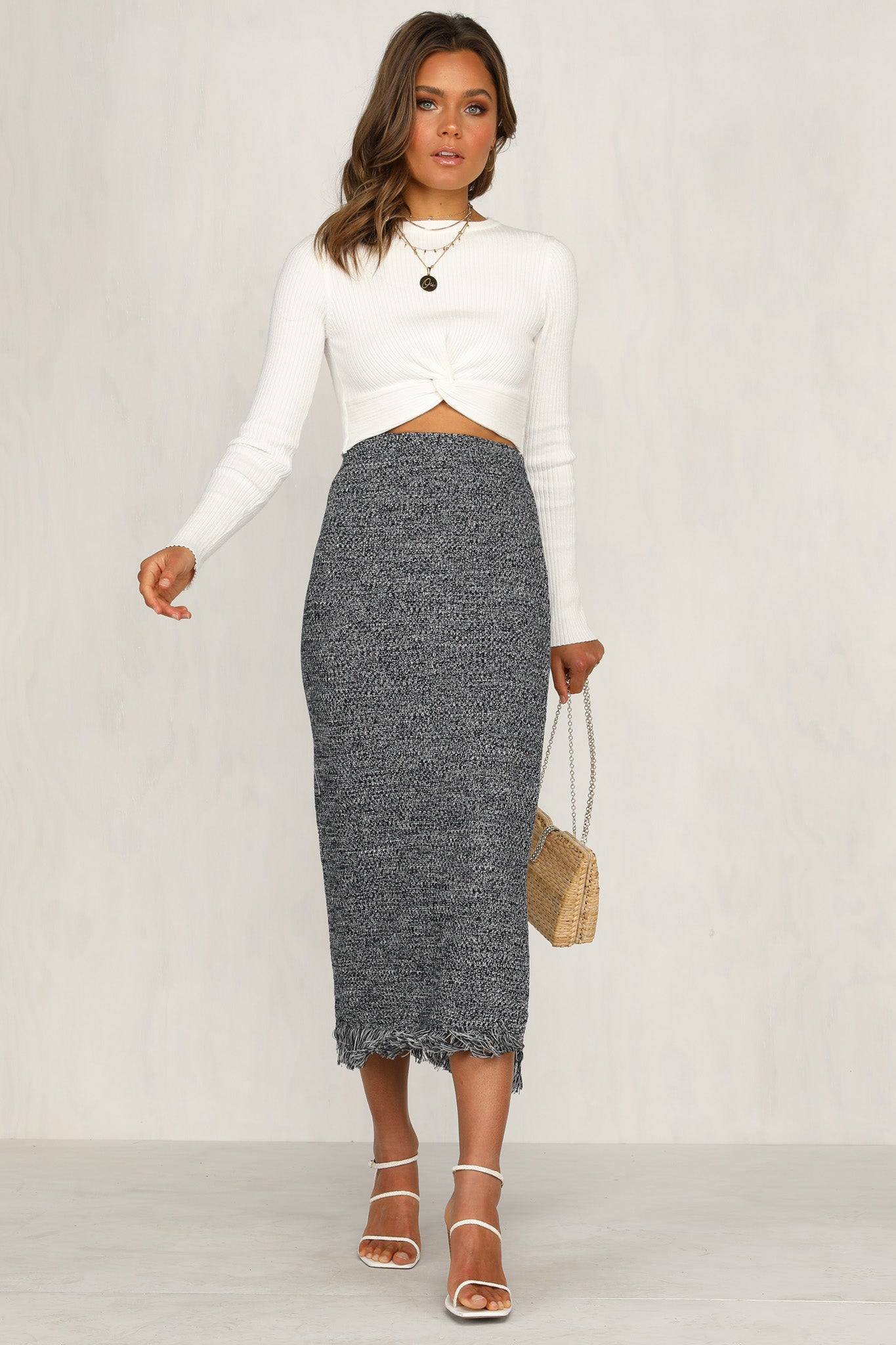Empire Skirt (Blue)