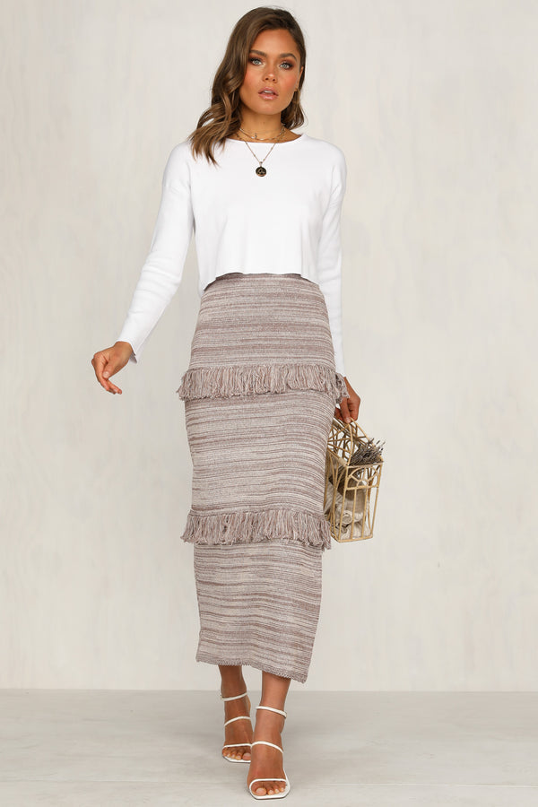 New Desert Skirt (Mocha)